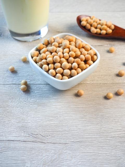大豆と牛乳